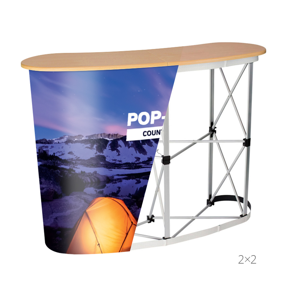 Pop Up Counter Stand X-Ray