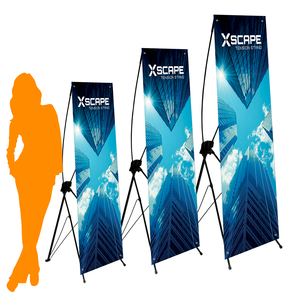 Lightweight Tension Banner Stand