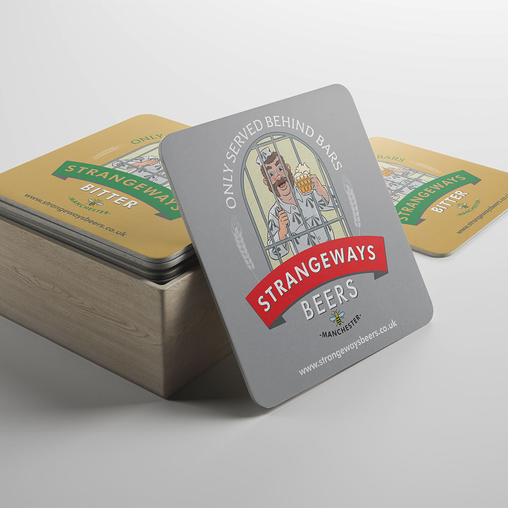 Square Beer Mats